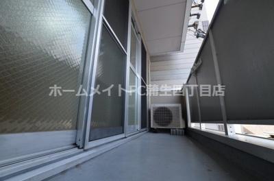 【バルコニー】プレシード京橋
