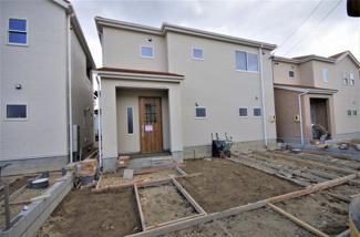 堂々完成しました!(1~6号棟まで完成済み) 敷地面積182.74㎡(55.27坪) 駐車場並列2台。