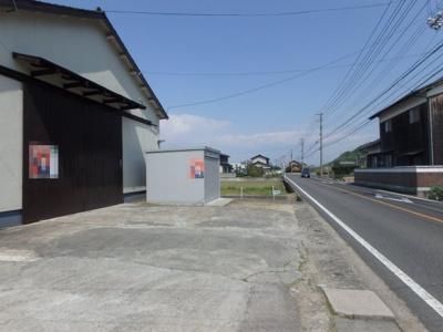 【駐車場】連島町西之浦渡辺倉庫
