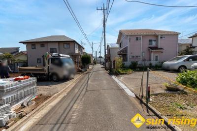 【外観】立川市栄町3丁目 新築一戸建 全1棟