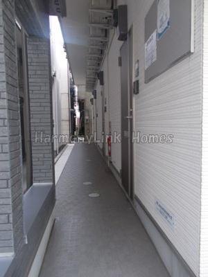 ハーモニーテラス東池袋の廊下☆