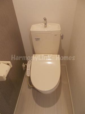 ハーモニーテラス東池袋の落ち着いたトイレです