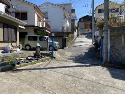 【前面道路含む現地写真】神戸市垂水区千代ヶ丘1丁目 中古戸建