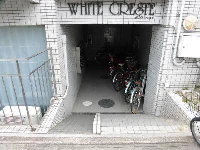 【エントランス】ホワイトクレステ