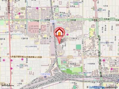 【地図】ホワイトクレステ