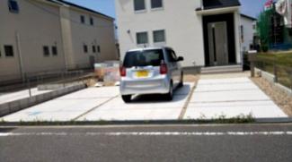 駐車場も広くとめやすいです。