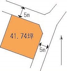 【土地図】茨城町小鶴土地