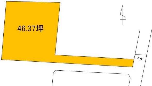 【土地図】姫子1丁目土地