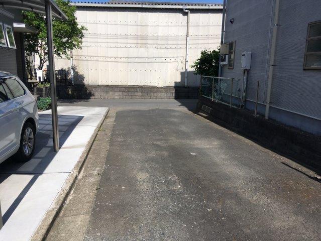 【前面道路含む現地写真】姫子1丁目土地