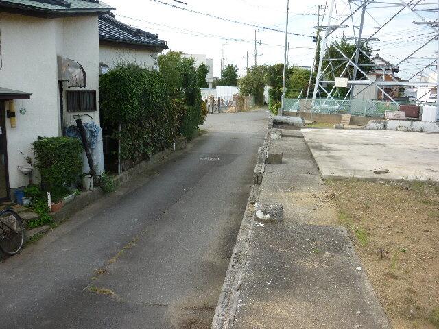 【前面道路含む現地写真】那珂郡東海村村松土地