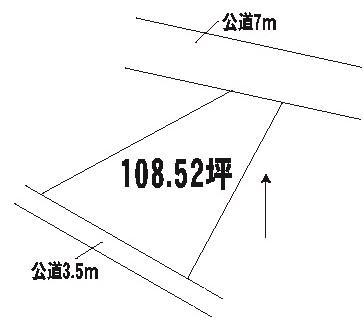 【土地図】那珂郡東海村村松土地