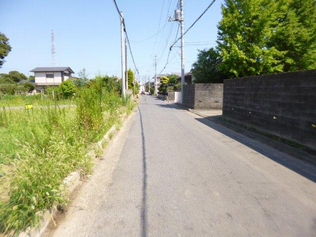 【前面道路含む現地写真】青柳町5区画土地