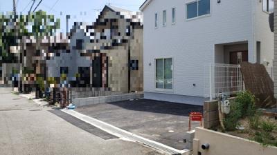 【前面道路含む現地写真】神戸市垂水区東垂水町字高丸 新築戸建