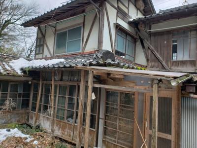 【外観】鳥取市立川町一丁目古民家