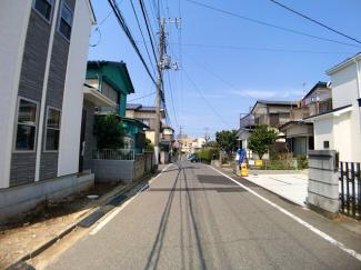 前面道路は5.4mの公道です。