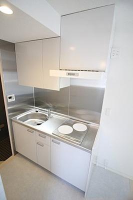 【キッチン】クレセントアパートメント