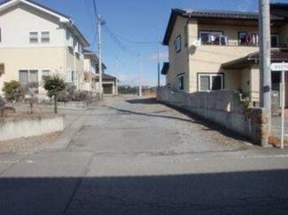 【前面道路含む現地写真】高崎市下里見町 売地