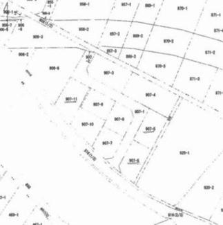 【土地図】高崎市上大島町 売地