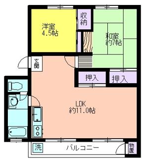 久米川駅東住宅19号棟