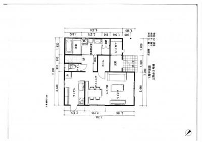 建物プラン1階