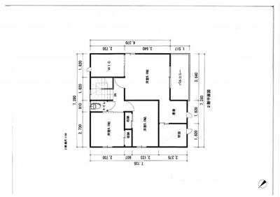 建物プラン2階