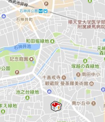 【地図】レオパレスエクレールⅡ(47824-108)