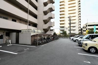 駐車場・駐輪場です。