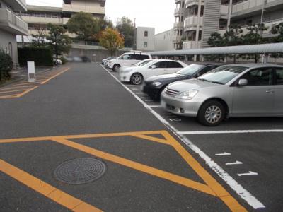 【駐車場】千里南パークマンションA棟