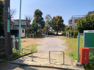 物件の斜め前が田喜野井7丁目2号公園ですのでくつろげます。