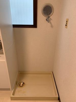 室内洗濯機置き場は、あると便利!