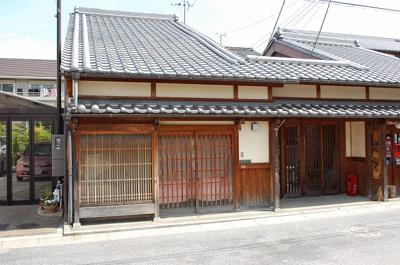 【外観】かにや店舗(奈良町)