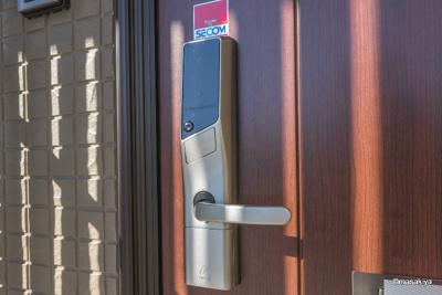 玄関 カードキー