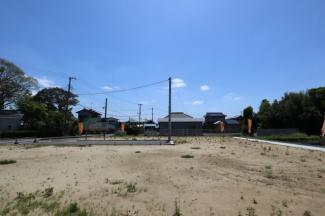 アナハイムAnaheim台方 土地 東金駅 前面道路も広く、見通しの良い安心安全な住宅街になります。