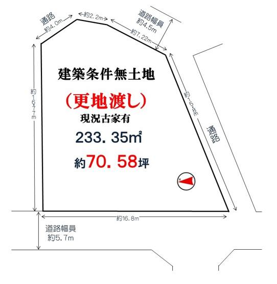 【土地図】堺市北区中百舌鳥町1丁(中百舌鳥小学校)
