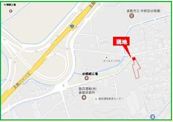 【地図】サントピア船穂 ①号地モデル