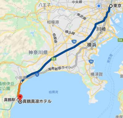 【地図】真鶴ホテル