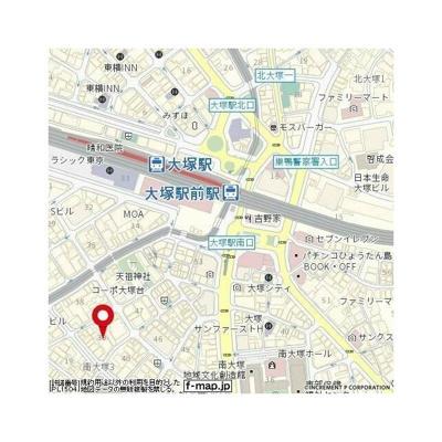 【地図】ルフォン南大塚ザ・レジデンス