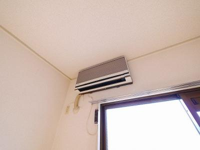エアコン一台付きです