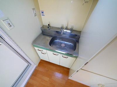 シンク部の大きいキッチンは使いやすいですね
