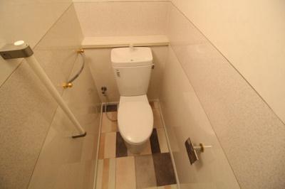 トイレは1階と2階それぞれあります