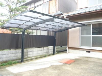 【駐車場】東近江市佐生町借家