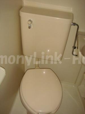ライフピアエチュードのトイレもきれいです