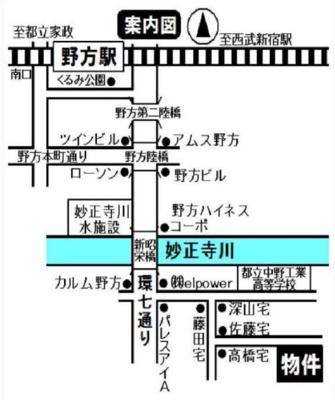 ライフピアエチュードの地図☆