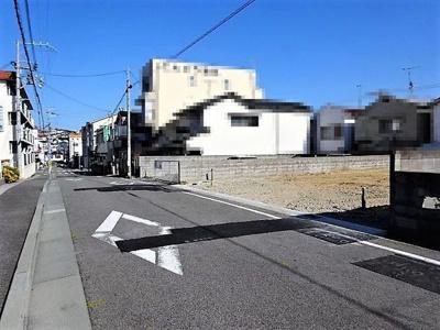 【前面道路含む現地写真】《》垂水区馬場通 新築一戸建 1号棟
