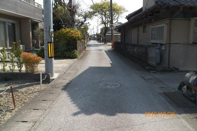 【前面道路含む現地写真】南国市浜改田