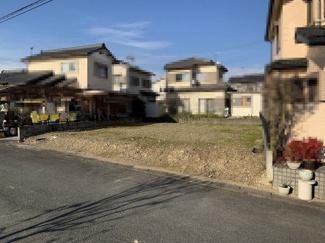 【外観】西万木49坪土地