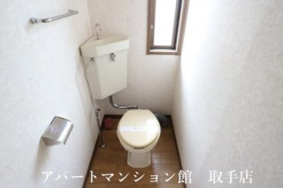 【トイレ】グランデュール蘭A