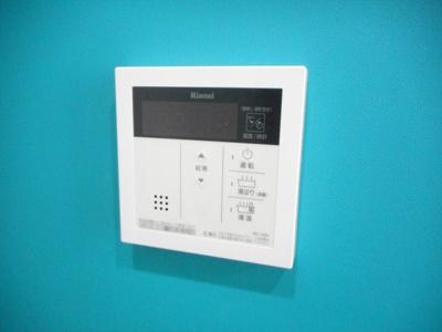 ムダな待機時消費電力を削減する「省電力モード」搭載の給湯器。