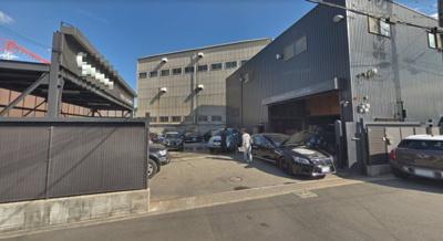 【外観】三宝町 約103坪 倉庫事務所