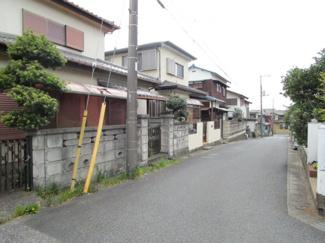 千葉市中央区都町 中古一戸建て 千葉駅  道幅もあり、駐車も安心です!